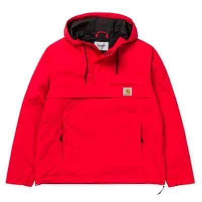 Canguro Carhartt Nimbus Pullover Chill Rojo Chaquetas De Invierno Para Mujer Ropa De Moda Chaquetas