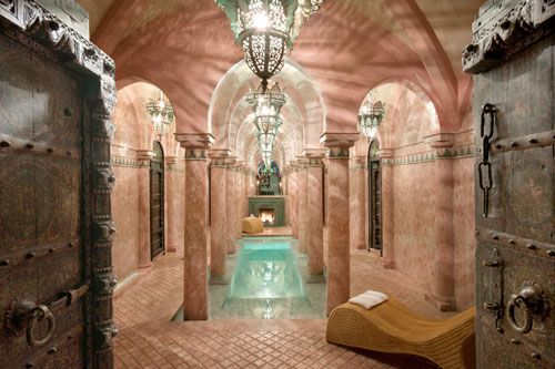 hammam at la sultana, marrakech, marocco ..