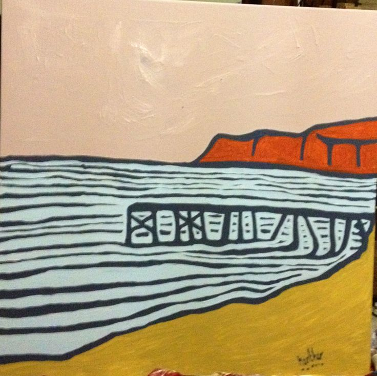 my version of jetty at normanville beach