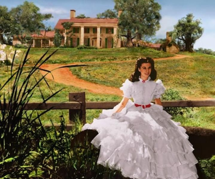 Hollywood's Iconic 'Gone with the Wind' Movie Set has been hiding in a Barn for Decades