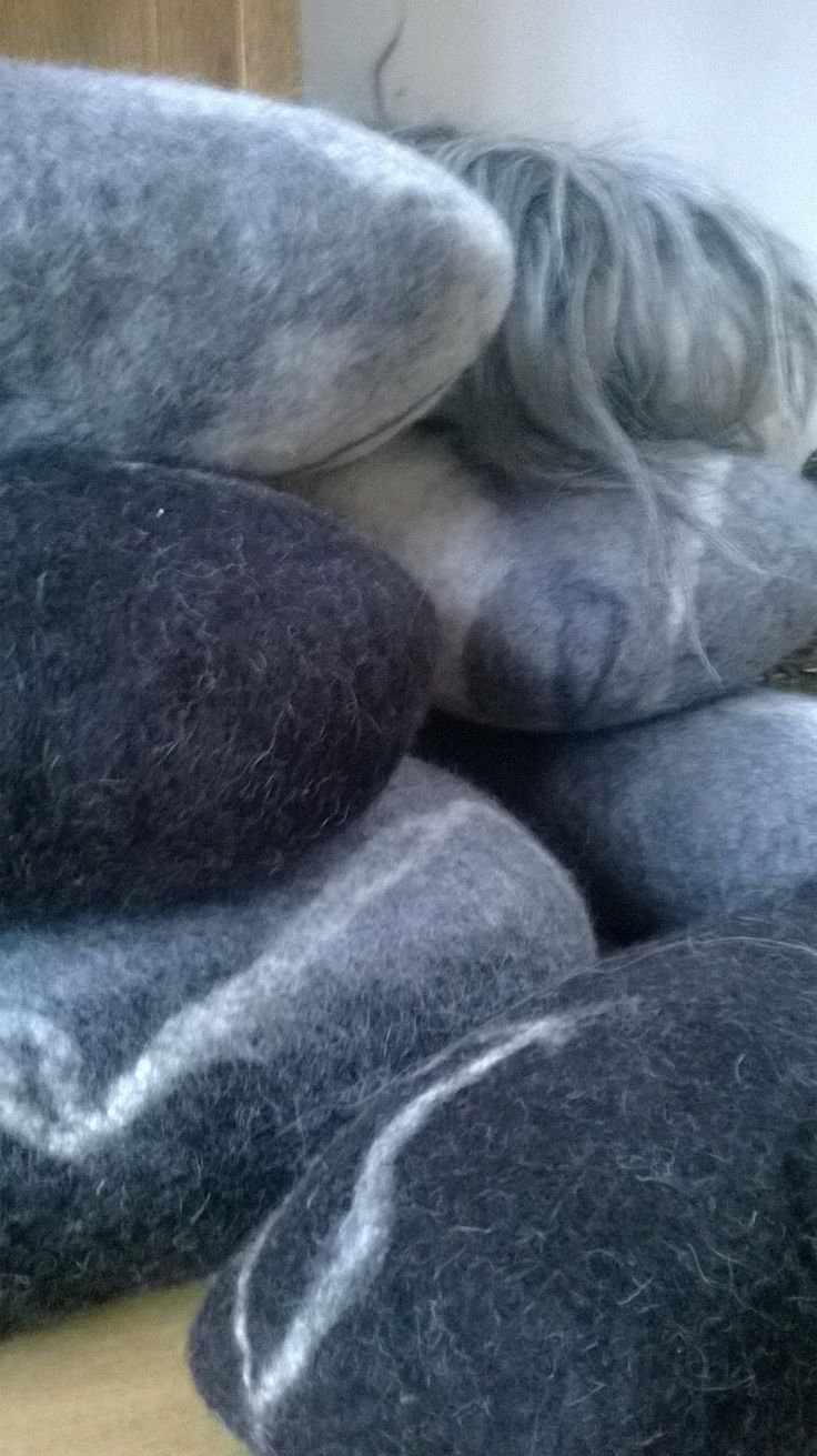 Detail of bestseller stone cushions. from 25 euro at Atelier 87 by Amber Scholten.