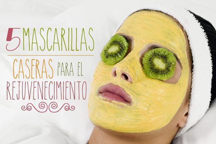 5 mascarillas caseras para el rejuvenecimiento de la piel