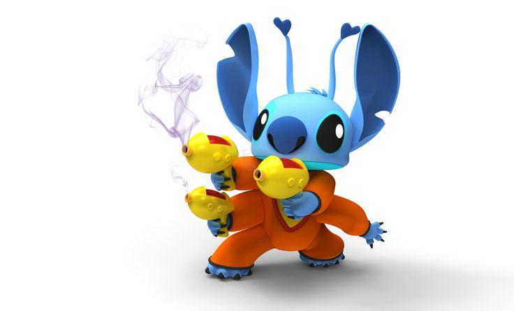 Stitch - Rhino - 3D CAD model - GrabCAD