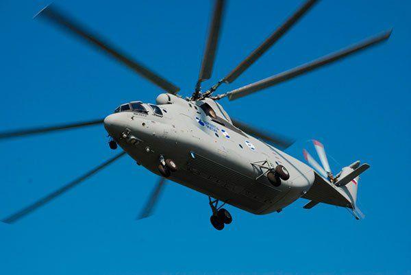 Mi-26T2: El helicóptero de transporte de carga pesada más grande del mundo