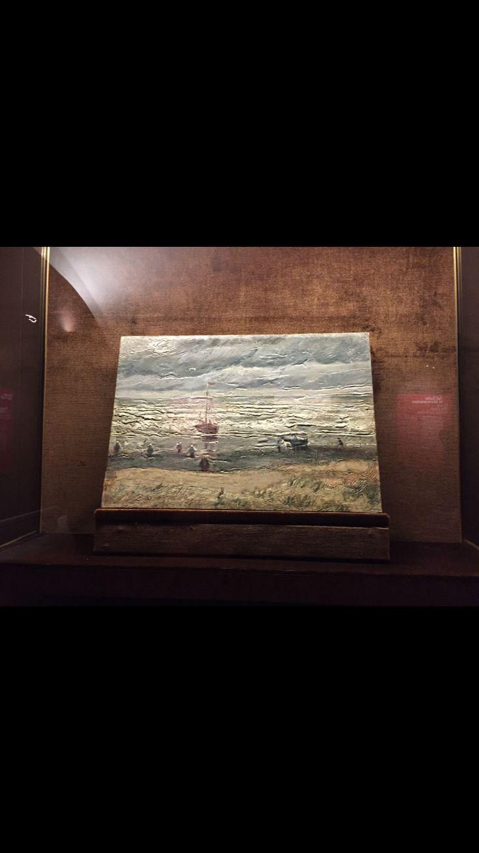 The beach of Scheveningen  Vincent Van Gogh
