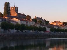 St Savinien sur Charente - le crépuscule