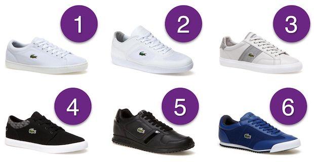 sneakers lacoste solde
