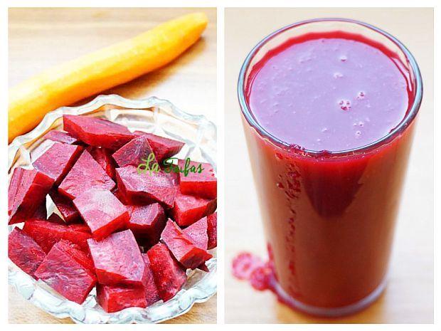 Acest suc natural, pe bază de sfeclă, morcov, măr, portocală și lămâie este un mijloc natural de prevenirea sau chiar remisiune a bolilor.