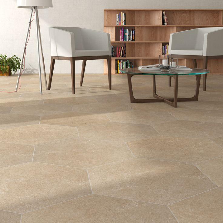 M s de 1000 ideas sobre baldosas hexagonales en pinterest for Pavimento ceramico hexagonal