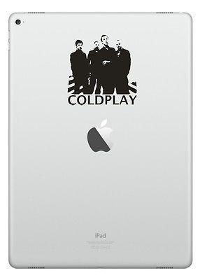 Coldplay Vinyl Transfer Sticker Decal Ipad Laptop Phone Car