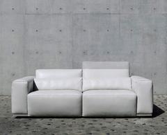Kelvin Giormani Pradi # 0109 Italian Leather Sofa | Eurohaus Modern Furniture
