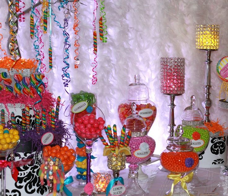 candy buffet, all colors: