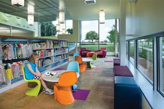 Lochwood Branch Library - Dallas Public Library. How To Design Library Space with Kids in Mind   Library by Design