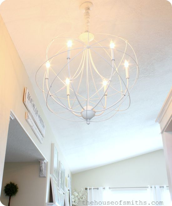 Would love something like this for over the dining table  : a810f6293833515060104978117fa19b orb chandelier chandeliers from www.pinterest.com size 550 x 658 jpeg 34kB