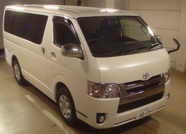 2014 Toyota Hiace Van, Car ID = SAF- 1413 Toyota Van 2014 TOYOTA HIACE VAN SUPER GL Japanese Used Car Exporter | SAFFRAN INTERNATIONAL