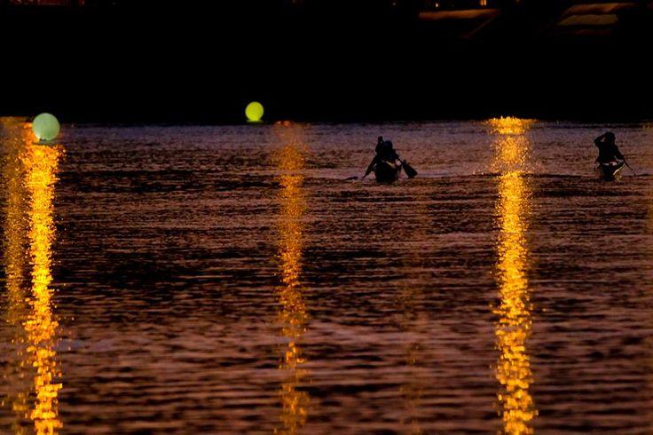 Canoe sull'Adige