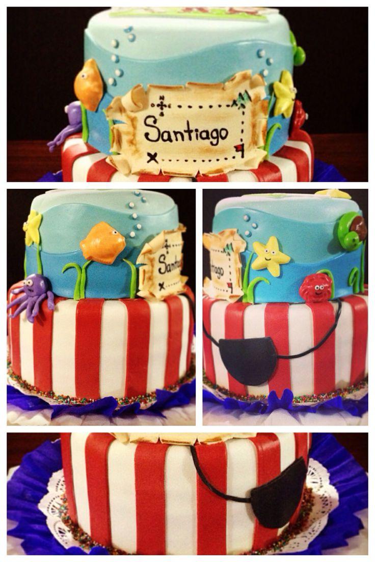 Cake ideas on pinterest pirate cakes marshmallow fondant and - Torta De Jake Y Los Piratas De Nunca Jam S Jake And The Neverland Pirats Cake Pirate Cakescupcake