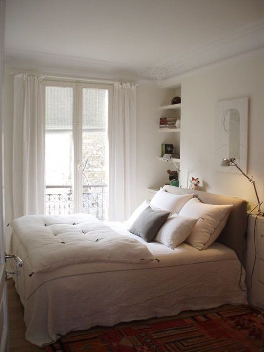 A Gallery of Inspiring Small Bedrooms | Bedroom apartment ...