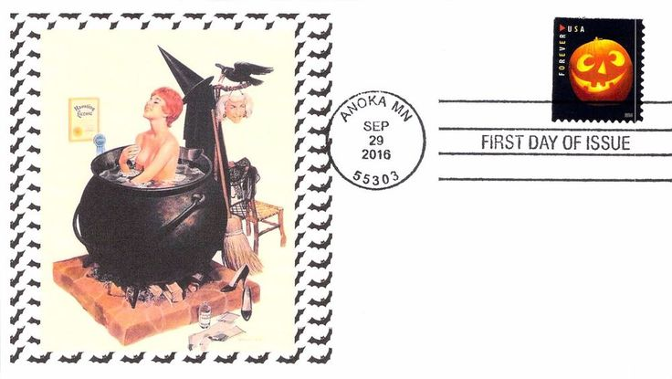 2016 Jack-o-Lantern First Day Cover