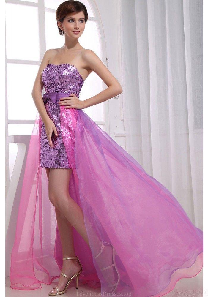 Mejores 8 imágenes de High Low Prom Dresses en Pinterest   Vestido ...