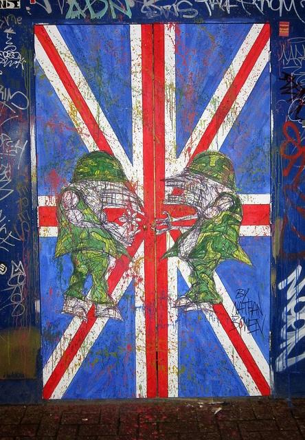 Nathan Bowen - London Street Art Graffiti    (as seen on the apprentice May 2012)