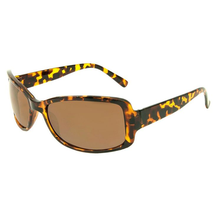 Women's Rectangle Sunglasses - Brown