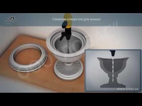 Вазоны для цветов ✿ вазон бетонный и пластиковый. - YouTube