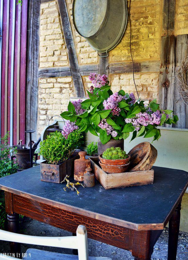 Ich Bin Dann Mal Weg Mit Osterimpressionen Garten Garten Deko Cottage Garten
