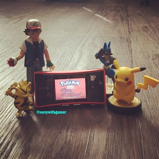 Curious one by navywifegamer #gameboy #microhobbit (o) http://ift.tt/1SGXprP of the day on the Japanese special edition Pokémon gameboy micro. Hands down favorite Pokémon handheld. #pokemon #pikachu micro #pokemon20thanniversary #ashketchum #electabuzz #lucario #amiibo #specialedition #retrogamecollector #videgamecollector #retrogamer #pokemonruby #nintendo