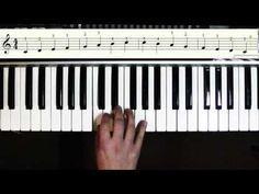 Klavier spielen lernen für Anfänger. Ein Tutorial in deutsch für Einsteiger ohne Vorkenntnisse. - YouTube