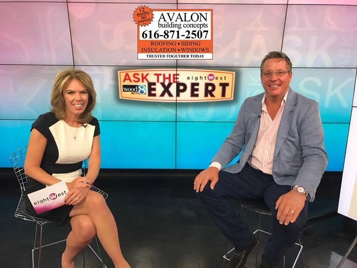 We are pleased to be the WOOD TV 8 and eightWest Roofing Expert. Thank you for a wonderful morning, an allowing Avalon Building Concepts to provide peace of mind to West Michigan viewers roofing questions.