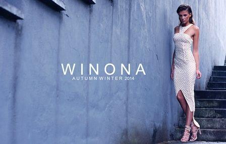 WINONA AUSTRALIA Garden of lace tail dress www.winonaaustralia.com