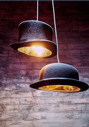 Lighting idea- each table has a different 20s prohibition theme above each table