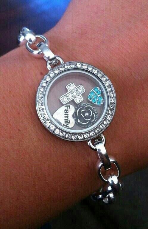 Origami Owl Link Locket Bracelet - To place your order, visit my website at http://yourcharminglocket.origamiowl.com/ or if you have further questions, OR LOOKING FOR A RETIRED OO PRODUCT, message me on Facebook. https://www.facebook.com/YourCharmingLocket.