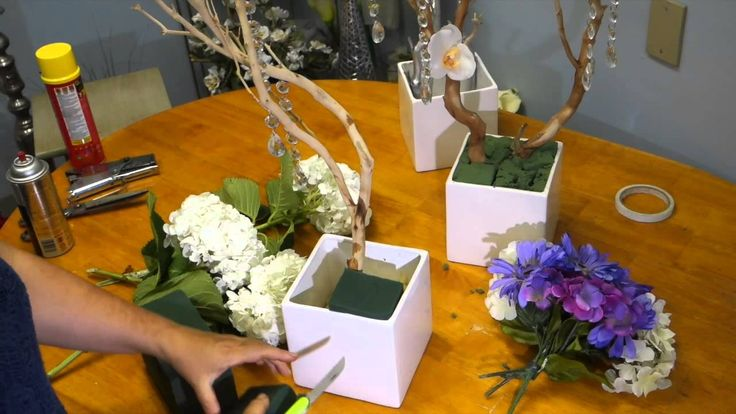 This DIY video tutorial will demonstrate how to make and decorate flower arrangements with manzanita tree branches.The instructions are easy to follow with t...