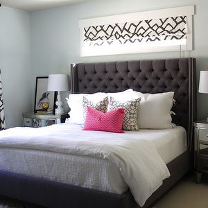 1000 ideas about pale blue walls on pinterest mint for Charcoal grey bedroom designs