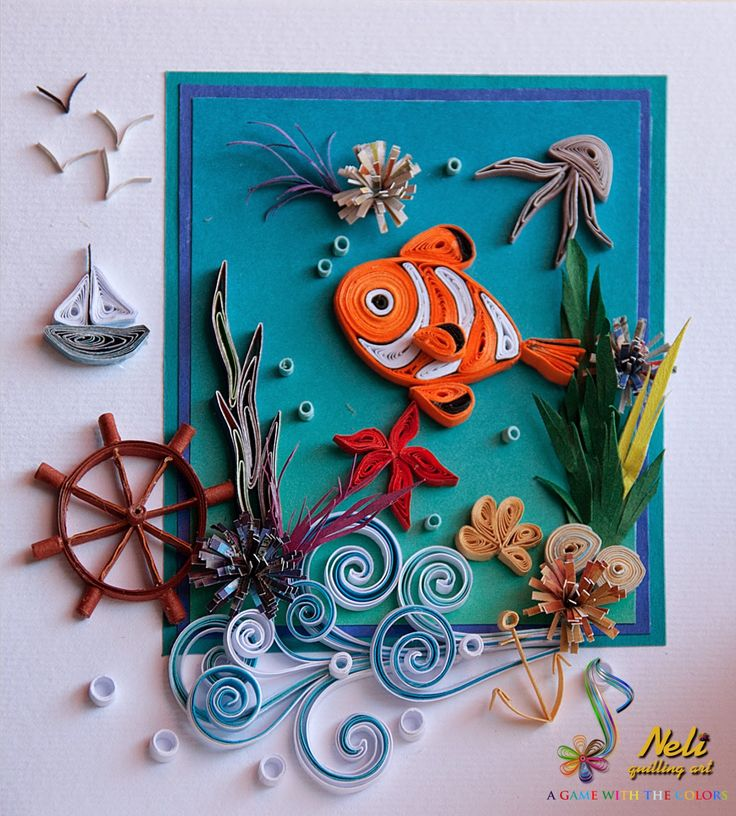 70 Best Images About Pesci Quilling On Pinterest