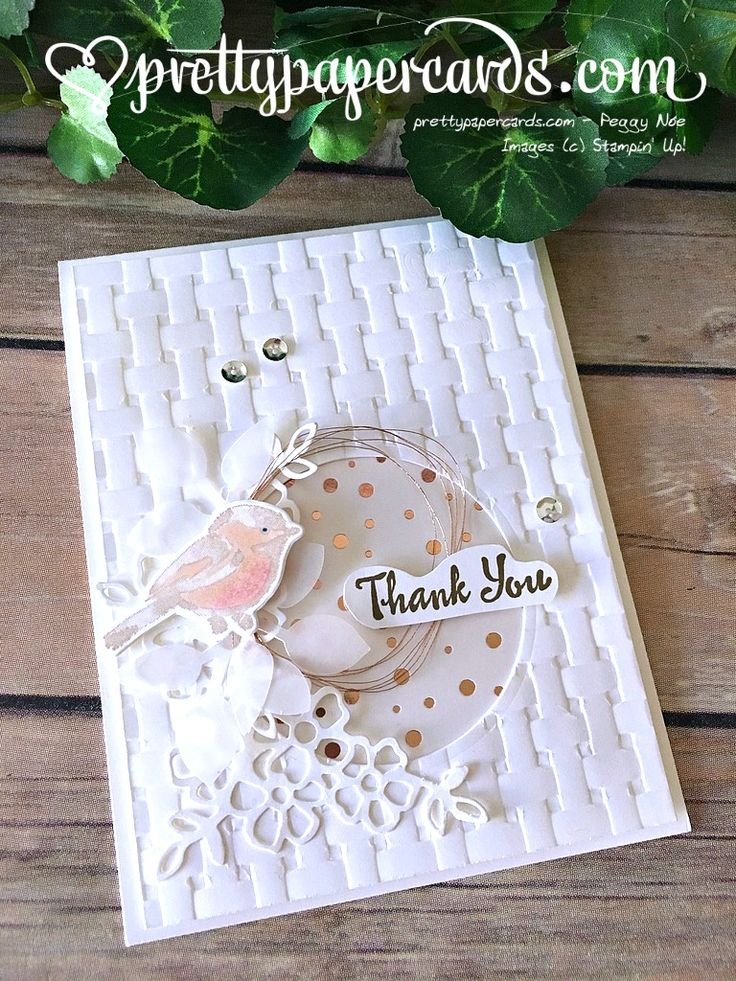 Stampin' Up! Tic Tac Toe Challenge - Prettypapercards - stampinup
