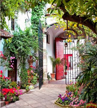 134 best images about cortijos andaluces casas r sticas y casas de pueblo on pinterest - Patios de casas rusticas ...