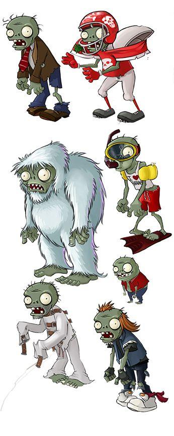 Rich Werner: Original Artist for Plants VS Zombies » PLANTS VS ZOMBIES