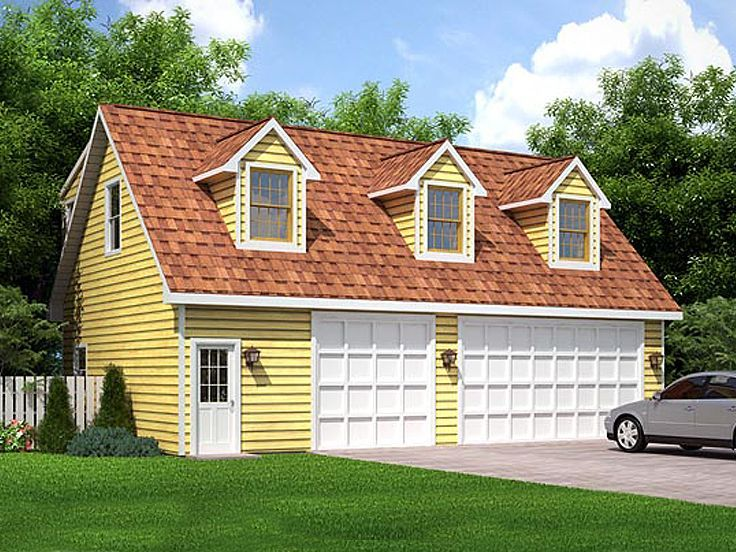 17 best images about 3 car garage plans on pinterest 3 for Carriage house plans with loft