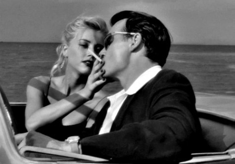 Amber Heard & Johnny Depp ... I knew it when I seen the movie (rum diaries) I just knew it.