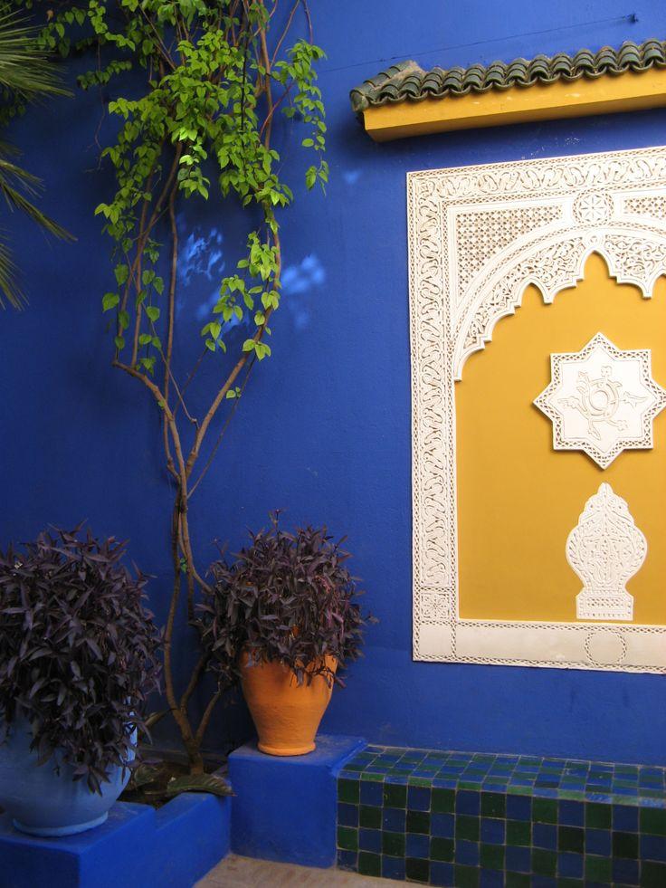 Majorelle Gardens, a quiet place in Marrakech