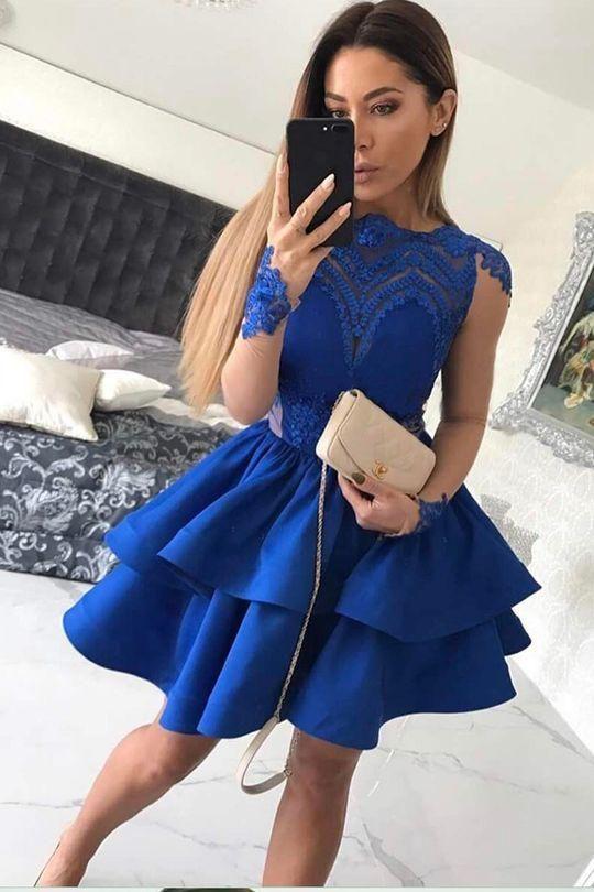 A-Line Homecoming Dresses 932d9482267f
