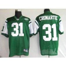 Jets #31 Antonio Cromartie Stitched Green NFL Jersey
