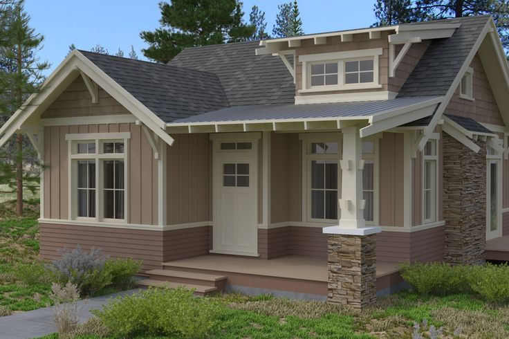 351 best images about 1920s craftsman bungalow exteriors for Small craftsman homes
