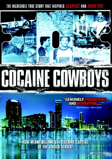 Cocaine Cowboys. Fantastic documentary and great score by Jan Hammer!!!