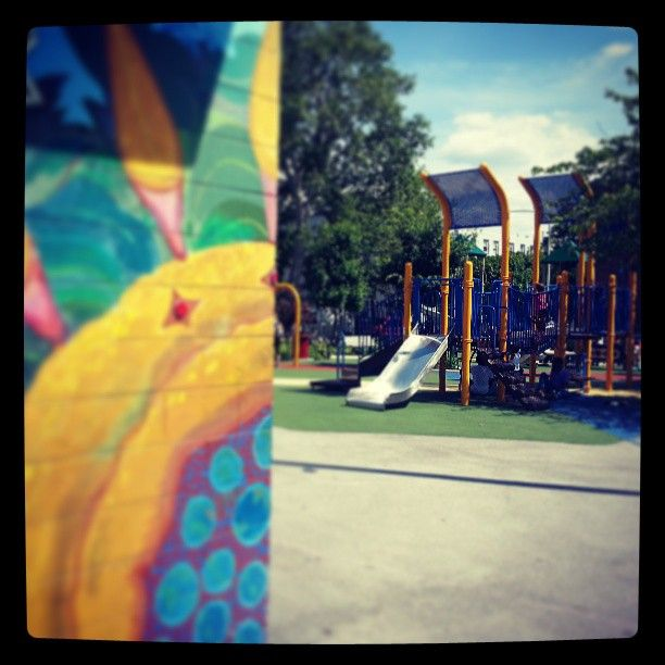 Roberto Clemente #Park & #Playground in the #Fairmount section of #Philadelphia #ALDIANews #ALDIANewsAroundTown