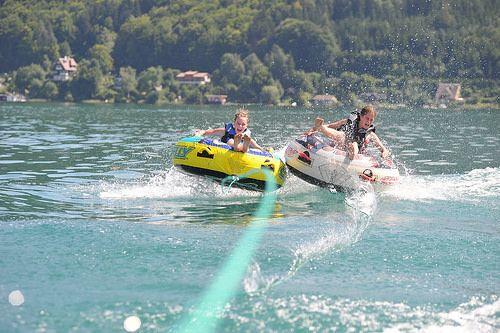 Reifen fahren am Wörthersee #wörthersee #sport #wassersport #urlaub #sommer