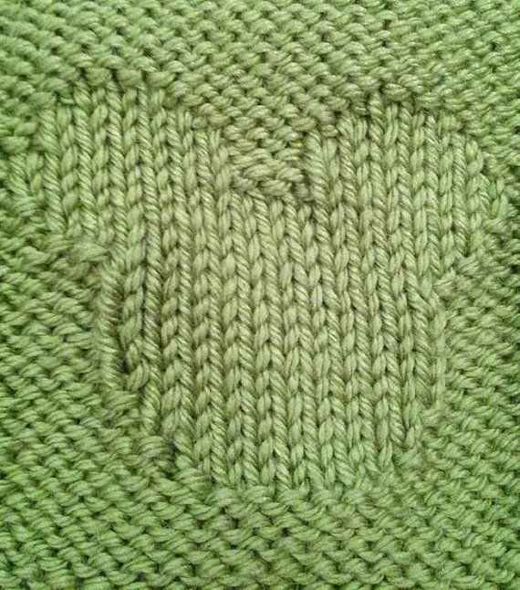 Hidden Mickey Knit Baby Blanket  PDF Pattern by KnotYourAvgKnits, $3.95
